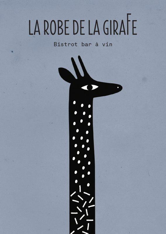 la robe de la girafe mathilde aubier. Black Bedroom Furniture Sets. Home Design Ideas